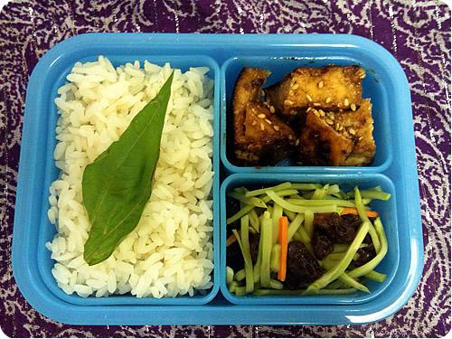 Hapa-tite — Kung Pao Tofu, Broccoli Salad