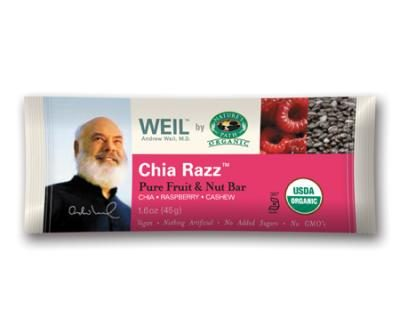 WEIL by Nature's Path Chia Razz Bar