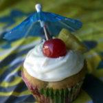 Piña Colada Cupcakes – Happy 21st Birthday Ariel!