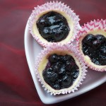 Mini Blueberry Cheesecakes with Trefoils™ Cookie Crust