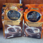 Seasonal Fall Godiva Coffee – Caramel Pecan Bark & Pumpkin Spice