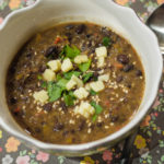 Fast & Easy Black Bean Soup