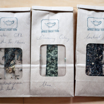 Single Origin Teas: Ginseng Oolong