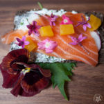 An Edible Flower Picnic