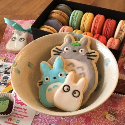 Yummyholic Totoro Cookies