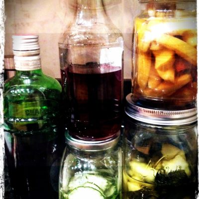 Homemade Infused Vodkas & Gin
