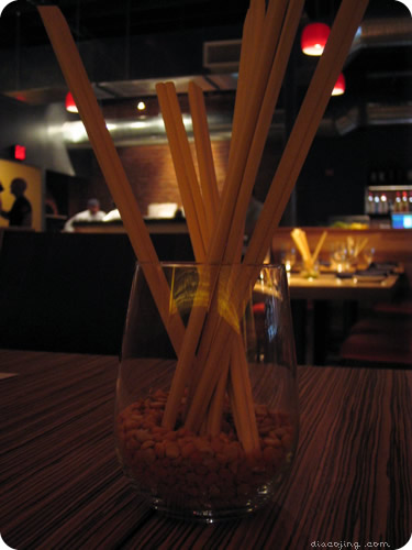 Chopsticks Centerpiece