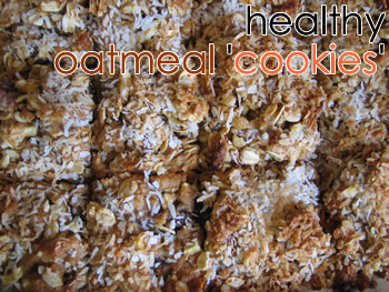 "Healthy Oatmeal ""Cookies"""