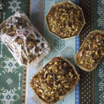 Pistachio, Cranberry, and Crystallized Ginger Cookies & Bread