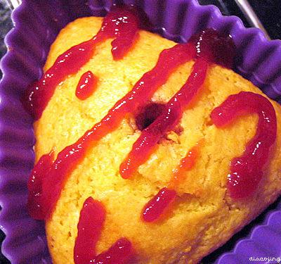 Citrus Corn Muffin Madelines/Scones