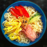 Chilled Chinese Noodle Salad (冷やし中華)
